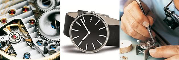Reparatur von Armbanduhren